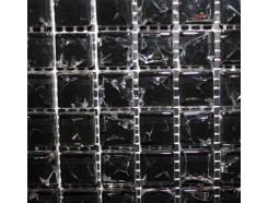 Мозаика моно черный колотый