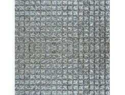 Мозаика моно рельефный платина