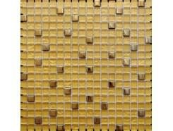 Мозаика микс  металлик золото