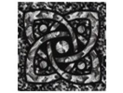 Тако напольная вставка Галактика платина рифл., 66*66*8