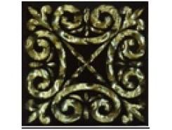 Тако напольная вставка Классик золото рифл., 66*66*8