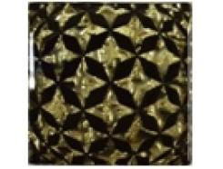 Тако напольная вставка Сфера золото рифл., 66*66*8