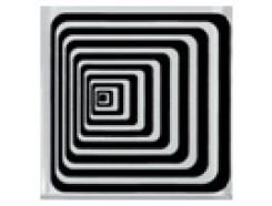 Тако напольная вставка Илюзия., 80*80*8