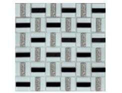 Мозаика Трино черно-белая, 300 x 300