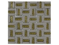 Мозаика Трино платина-золото рифл., 300 x 300
