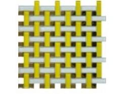 Мозаика плетенка желтая, 280 x 280