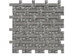 Мозаика плетенка платина - платина рифл., 280 х 280