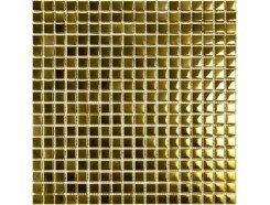 Мозаика моно рельефный золото