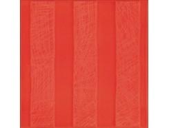 Декор (20x20) AGATHA RAYAS RELIEVE CARMIN