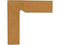 Aquarius Brown 30x30 (2x30x8,1) плинтус двухэлементный лестничный левый