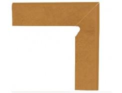 Aquarius Brown 30x30 (2x30x8,1) плинтус двухэлементный лестничный правый