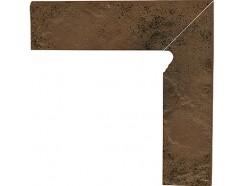 Semir Beige 30x30 (2x30x8,1) плинтус двухэлементный лестничный правый