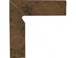 Semir Beige 30x30 (2x30x8,1) плинтус двухэлементный лестничный левый