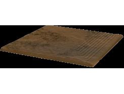 Semir Beige 30x30 Рифленая угловая структурная ступень