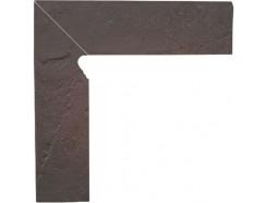 Semir Rosa 30x30 (2x30x8,1) плинтус двухэлементный лестничный левый