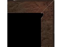 Semir Brown 30x30 (2x30x8,1) плинтус двухэлементный лестничный правый