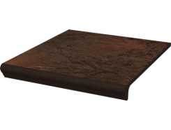 Semir Brown 30x33 ступень с капиносом прямая структурная