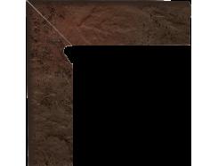 Semir Brown 30x30 (2x30x8,1) плинтус двухэлементный лестничный левый