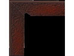 Cloud Brown Duro 30x30 (2x30x8)  плинтус двухэлементный лестничный структурный левый