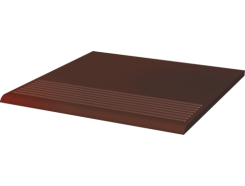 Cloud Brown 30x30 рифленая прямая гладкая ступень