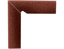 Cloud Rosa Duro 30x30 (2x30x8,1) плинтус двухэлементный лестничный структурный левый
