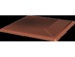 Cloud Rosa 30x30 рифленая угловая гладкая ступень