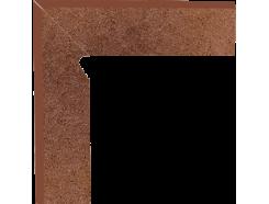 Плинтус двухэлементный лестничный левый Taurus Brown 30x30 (2x30x8,1)