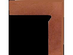 Плинтус двухэлементный лестничный правый Taurus Rosa 30x30 (2x30x8,1)