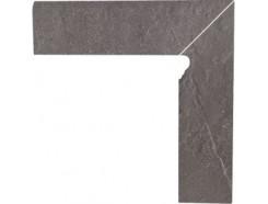 Плинтус двухэлементный лестничный правый Taurus Grys 30x30 (2x30x8,1)