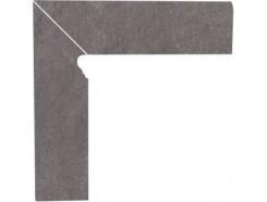Плинтус двухэлементный лестничный левый Taurus Grys 30x30 (2x30x8,1)