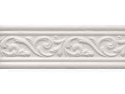 ARABESCO бордюр широкий белый / БШ 131061