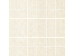 Doblo Bianco MOZAIKA SATYNA (kostka 4,8 x 4,8) 29,8 x 29,8