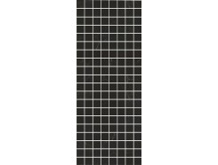 Декор Алькала черный мозаичный