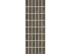 Декор Лирия коричневый мозаичный