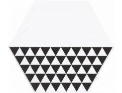 Декор Буранелли треугольники