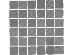 Декор Про Фьюче серый темный мозаичный