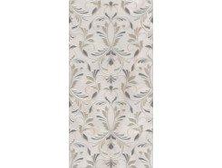 Декор Вирджилиано обрезной  серый