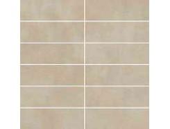 Tecniq Beige mozaika cięta (kostka 048x148) 29,8 x 29,8 półpoler