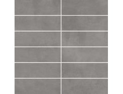 Tecniq Silver mozaika cięta (kostka 048x148) 29,8 x 29,8 półpoler