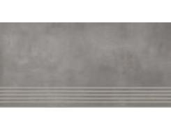 Tecniq Silver stopnica nacinana 29 x 59,8 półpoler