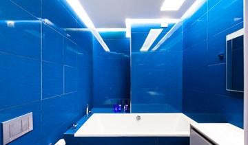 Оформление ванной комнаты в одном цвете