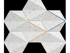 Dots grey mozaika  29,8x22,1