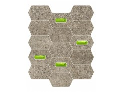 Lemon Stone Mozaika Scienna Grey 29,8x25