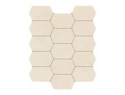 Lemon Stone Mozaika Scienna White 29,8x25