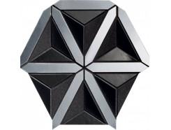Mozaika Lucid black 20,5x18,6