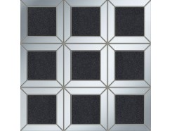 Mozaika Lucid square black 29,8x29,8