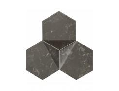 Scoria mozaika scienna black  19,2x16,5