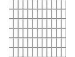 Altea Bianco (błyszcząca) MOZAIKA 30 x 30 - płytki uniwersalne (kostka 2,3 x 4,8)