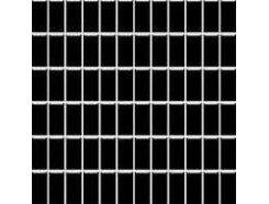 Altea Nero (błyszcząca) MOZAIKA 30 x 30 - płytki uniwersalne (kostka 2,3 x 4,8)