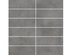 Tecniq Grafit mozaika cięta (kostka 048x148) 29,8 x 29,8 półpoler